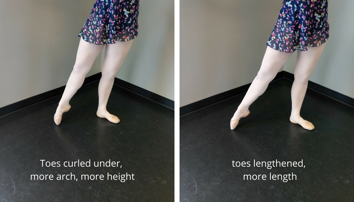 tendu length